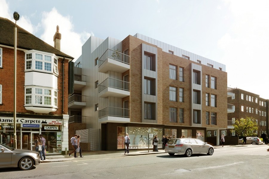 Real estate project for investment in London - Hendon