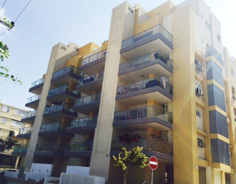 Real estate project for investment in Tel Aviv - Tama 38