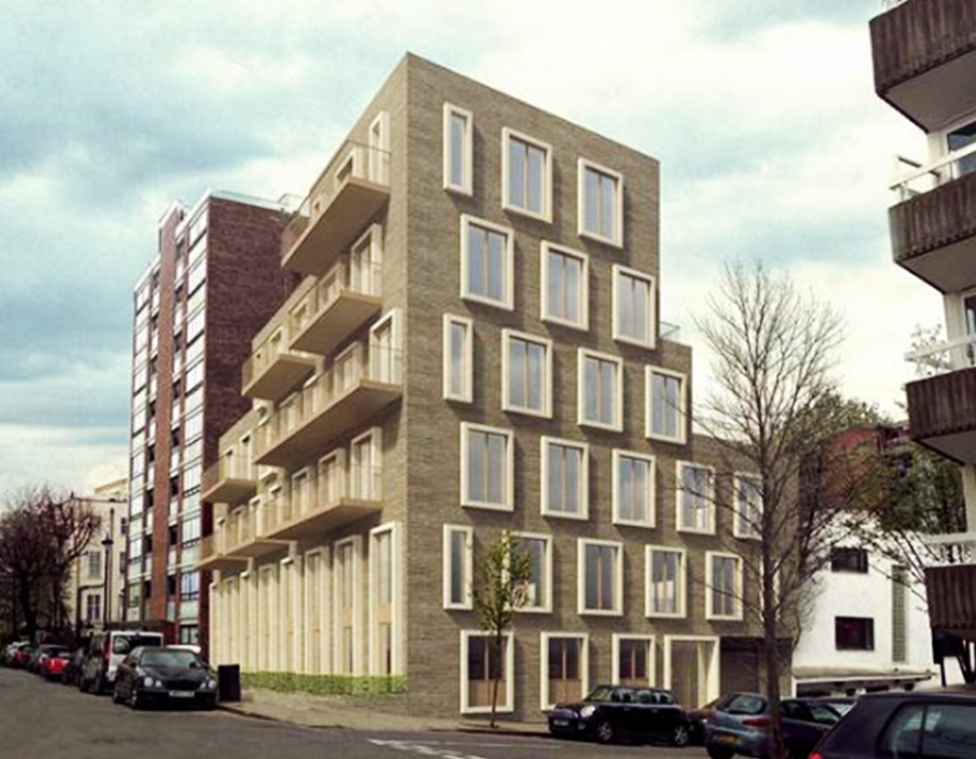 Real estate project for investment in London - St John